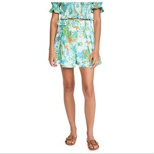 Anthro-Faithfull The Brand Floral High Rise Shorts